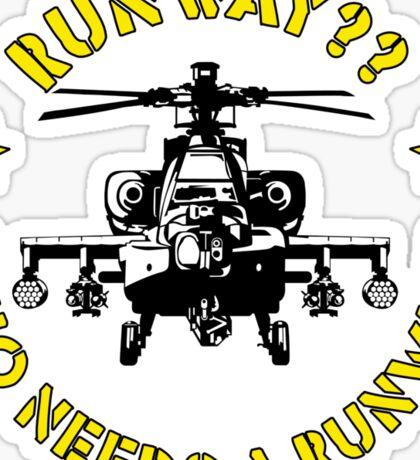 Runway 2 Sticker