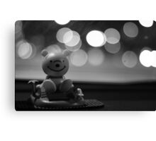 Dashboard Dongle. Canvas Print