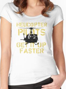 Up Faster Women's Fitted Scoop T-Shirt