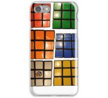 Rubiks cube iPhone Case/Skin