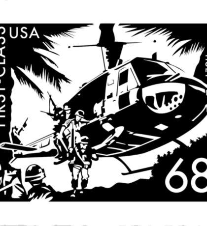 Huey Stamp Sticker