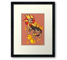 Pyroar Framed Print