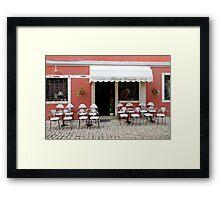 Inviting location Framed Print