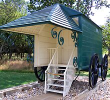 Queen Victoria's Bathing-Machine  by hootonles