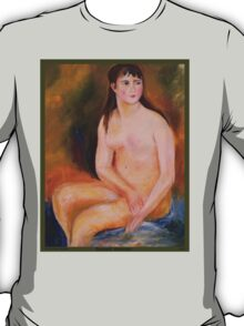Seated Woman painting T-Shirt
