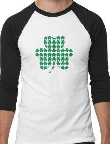 St. Patricks day shamrock Men's Baseball ¾ T-Shirt