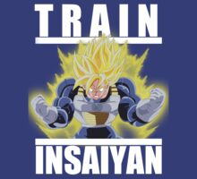 Train insaiyan - Ultra Goku by Ali Gokalp