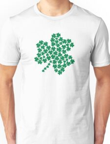 St. Patrick's day green shamrock Unisex T-Shirt