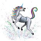 Unicorn by gabrielart