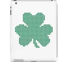 Pixel shamrock iPad Case/Skin