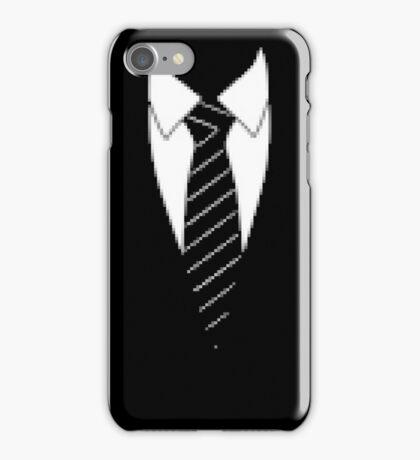 Pixel Suit and Tie iPhone Case/Skin