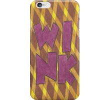 Four Letter Words, WINK iPhone Case/Skin