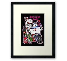 Born to be Bad Framed Print