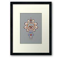 Flowering Heart Framed Print