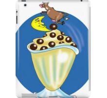 COW JUMPED OVER MOON CARTOON TABLET CASE iPad Case/Skin