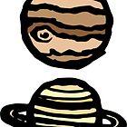 « Planets Colour » par TPdesigns