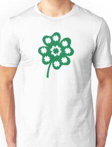 Green shamrock Unisex T-Shirt