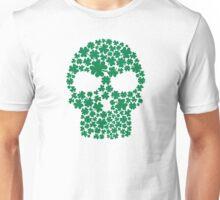 Shamrock skull Unisex T-Shirt