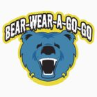Bear Wear A-Go-Go Blue by rosscocker