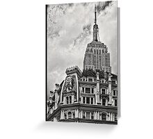 Empire State Over Gilsey House Greeting Card