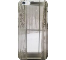 Looking Though the Window at the Storm iPhone Case/Skin