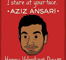 Aziz Ansari by Ben Kling