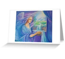 Nordic Angel Greeting Card