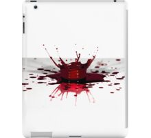 Blood, the fluid of life iPad Case/Skin