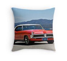 1967 Pontiac Bonneville Convertible II Throw Pillow