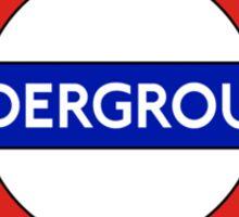 Underground Sticker