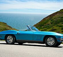 1967 Corvette Stingray Convertible by DaveKoontz