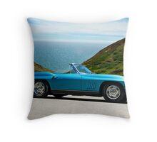 1967 Corvette Stingray Convertible Throw Pillow