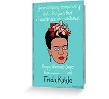 Frida Kahlo Greeting Card