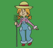 Rehaired Farmer Girl Kids Clothes