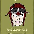 Amelia Earhart by Ben Kling