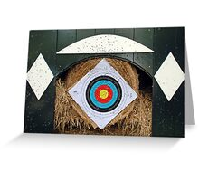 Archery statistics Greeting Card