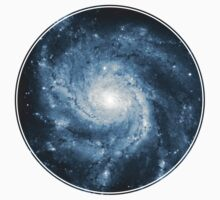 Whirlpool Galaxy [Dark Blue] | Fresh Universe T-Shirt