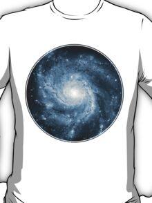 Whirlpool Galaxy [Dark Blue]   Fresh Universe T-Shirt