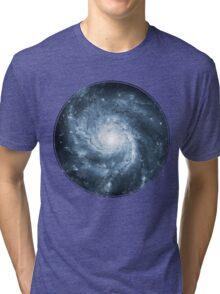 Whirlpool Galaxy [Dark Blue]   Fresh Universe Tri-blend T-Shirt