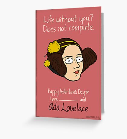 Ada Lovelace Greeting Card