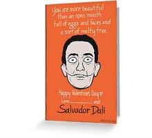 Salvador Dalí Greeting Card