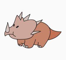 Beige Triceratops by SaradaBoru