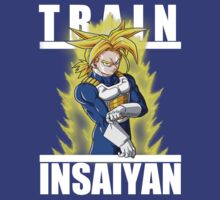 Train insaiyan - Trunks by Ali Gokalp