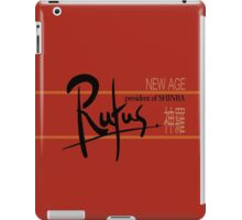 Rufus President of Shinra Campaign Logo - Final Fantasy VII iPad Case/Skin