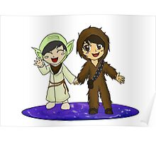 Dan and Phil starwars Poster
