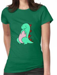 Lizard Dinosaur Womens Fitted T-Shirt