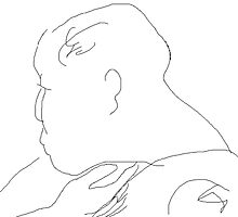 Man wearing Roman Toga -(070214)- Digital artwork/MS Paint by paulramnora