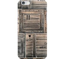 Packing Crates iPhone Case/Skin