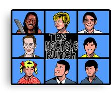 The Machete Bunch Canvas Print
