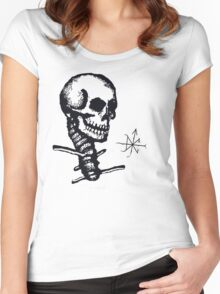 The Subtle Destroyer Women's Fitted Scoop T-Shirt